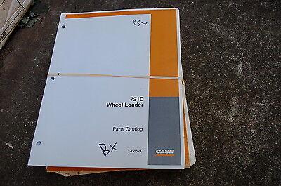 Case 721d Front End Wheel Loader Parts Manual Book Catalog Spare List 2003 Owner