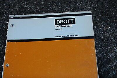 Case Drott 35 Series D Tractor Dozer Crawler Repair Shop Service Manual Book