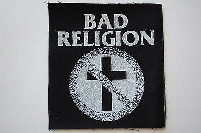 Bad Religion Cloth Patch Punk Rock