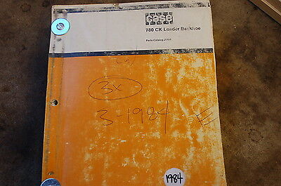 Case 780ck Backhoe Loader Tractor Parts Manual Book Catalog List Spare Front End