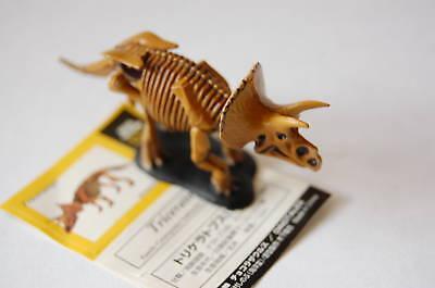 Chocolasaurs #004 TRICERATOPS SKELTON VER.  Kaiyodo