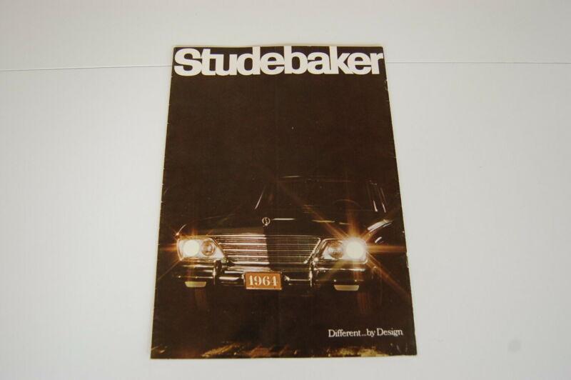 1964 Studebaker Automobile Vehicle Brochure