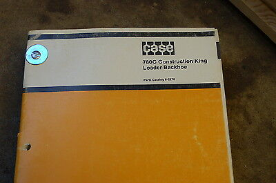Case 780c Backhoe Loader Tractor Parts Manual Book Catalog List Spare Front End