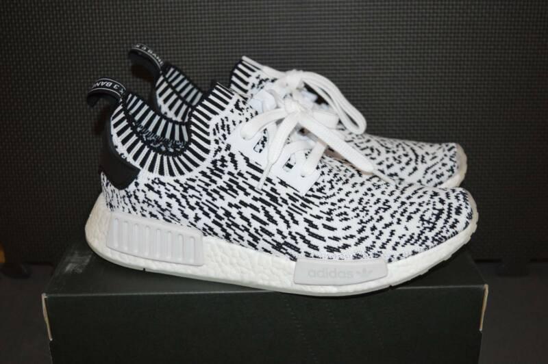 big sale d0b21 dc290 Adidas NMD R1 Primeknit Sashiko White US 8.5 | Men's ...