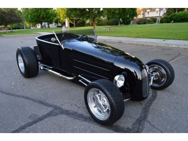Ford: Model T ROADSTER BADASS CUSTOM ZIPPER MOTORS 1926 FORD TRACK-T LAKESTER BUILT 400 CID V8 NICE !!