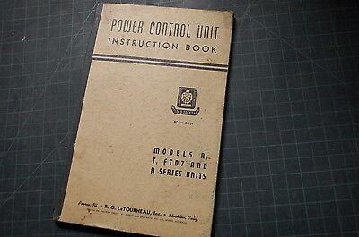 Letourneau Model R T Ftd7 N Series Power Control Unit Service Repair Manual Book