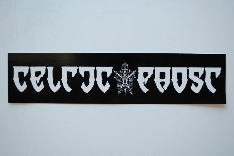 Celtic Frost Sticker Decal (464) Rock Heavy Metal Car Sticker Window Bumper