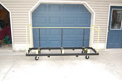 UpperZone Folding Table Cart Truck Holds 30