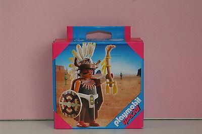 Playmobil seltener special 4749 Medizinmann Indianer Western Neu und OVP