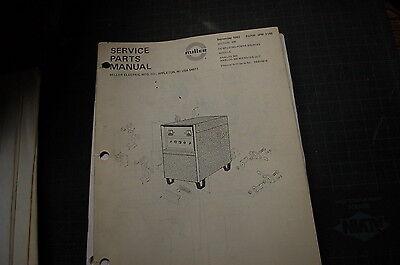Miller Welder Dc Generator Analog 300 Owner Parts Manual Book Catalog Spare 1982