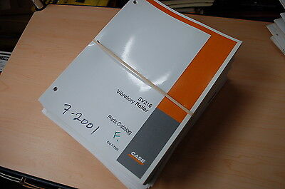 Case Sv216 Vibratory Compactor Smooth Drum Roller Parts Manual Book Catalog List