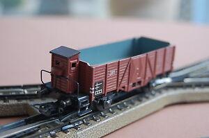 MARKLIN-H0-315-b-freight-car-from-1948-49-AC-good-cond