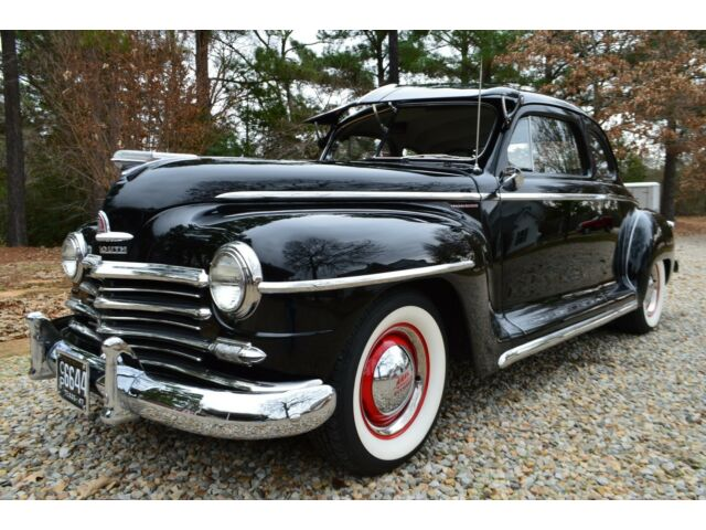 Gorgeous Survivor 1947 Plymouth Special Deluxe Business