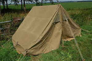 WWII British Army airborne  Officers style tent
