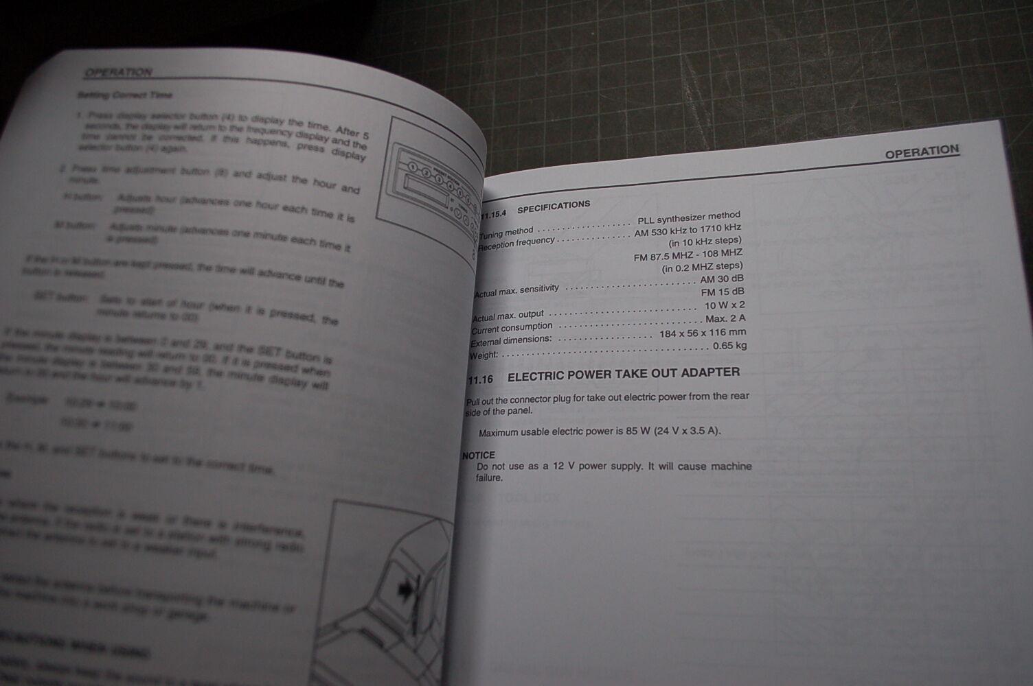 4 of 6 KOMATSU PC300-6 Excavator OPERATOR Manual book maintenance operation  trackhoe 5 of 6 KOMATSU ...
