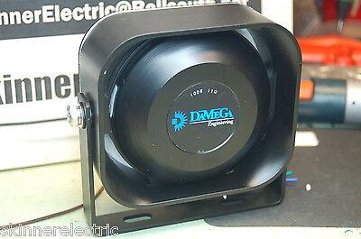 Damega Compact Slim Siren Speaker 100 Watt 11ohm Shome Code3 Federal Signal Able