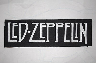 Led Zeppelin Cloth Patch (CP131) Rock Black Sabbath Robert Plant Judas Priest