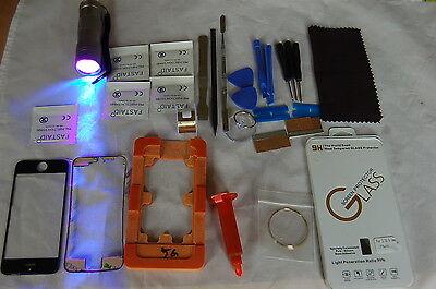 iPhone 5 Negro Profesional Kit de Reparación de Vidrio, Pantalla Frontal  comprar usado  Enviando para Brazil