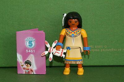 Playmobil 5461 Figures Girls Serie 5 Indianerin Indianer Western