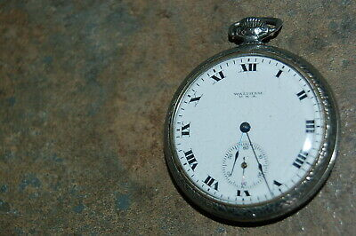 Waltham Pocket Watch 12S 17J Runs Grade 235