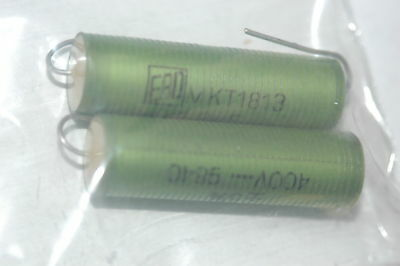 Roederstein Mkt1813-512404 1.2uf 400vdc 5 Axial Film Capacitor Qty-10