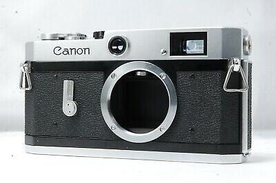 **Problem** Canon P 35mm Rangefinder Film Camera Body Only  SN765898