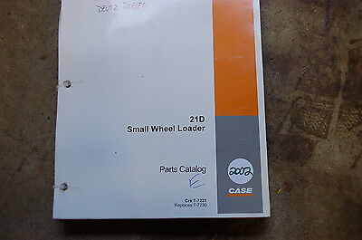 Case 21d Compact Front End Wheel Loader Parts Manual Book Catalog List Spare Oem