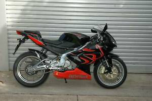 2009 Aprilia RS125 2T, 6 month warranty, low km, books, immaculate