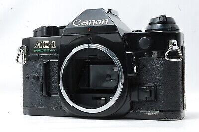 Canon AE-1 Program 35mm SLR Film Camera Body Only  SN3274089