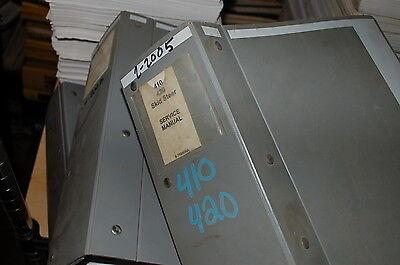 Case 410 420 Uni Skid Steer Loader Repair Shop Service Manual Book Overhaul 2005