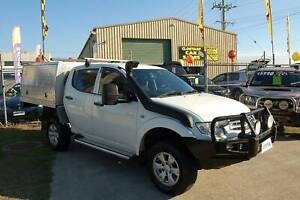 2011 MITSUBISHI TRITON GL-R TURBO DIESEL 4X4 MANUAL DUAL CAB Clontarf Redcliffe Area Preview