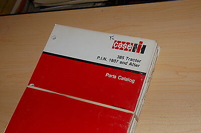 Case Ih 385 Tractor Parts Manual Book List Catalog Spare Farm 8-3330 Factory Oem