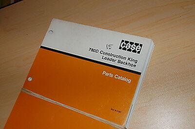 Case 780d Construction King Backhoe Loader Spare Parts Manual Book Landscaper