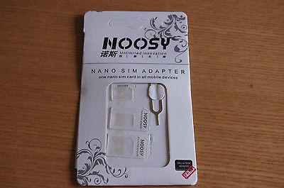 NOOSY Nano Micro Mini/Estándard SIM Adaptador Del Convertidor/Soporte+SIM