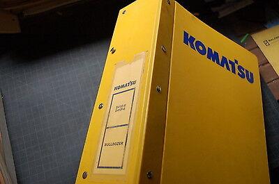 Komatsu D41 Tractor Dozer Crawler Service News Repair Shop Manual Updates Book E