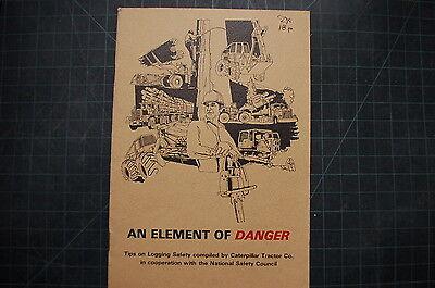 Cat Caterpillar Log Skidder Operator Safety Manual Book Guide Brochure Logging