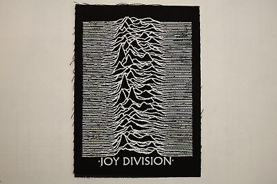 Joy Division Cloth Patch Sew On Badge The Cure Goth Rock  5