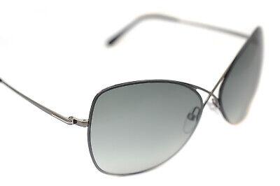 Tom Ford Colette TF250 08C Damen Quadrat Schmetterling Metall Sonnenbrille Grau
