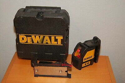 Dewalt Self-leveling Horizontalvertical Cross Line Red Laser Dw088 W Case