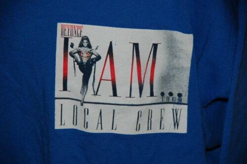 Beyonce Local Crew Concert Shirt 2009 I Am.. Tour XL