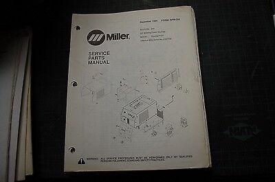 Miller Welder Maxstar 150 Generator Owner Parts Manual Book Catalog List Spare