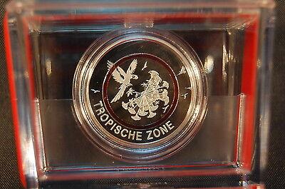 5 Euro Tropische Zone 2017 Münzzeichen G  Polierte Platte (PP, Proof) (1)