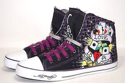 Ed Hardy Highrise W Lace 18FHR106M Black Men Shoes