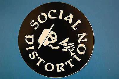 Social Distortion Sticker (S408)