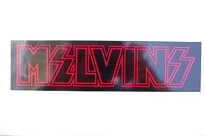 Melvins Sticker Decal (S227) Rock Music Car Sticker Window Bumper Truck