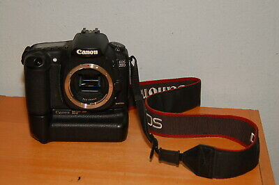Canon EOS 20D 8.2MP Digital Camera Body w/ BG-E2 Grip & 2 Batteries Canon 20d Body