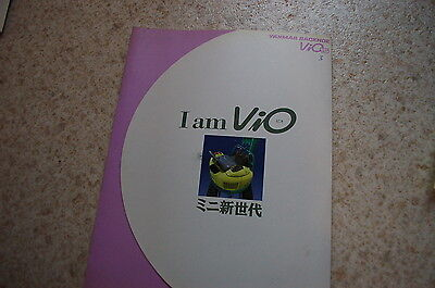 Yanmar Vio 15 Mini Excavator Dealer Sales Brochure Japanese Catalog Crawler Book