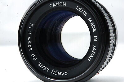 Canon NEW-FD 50mm F1.4 Lens  SN3538406