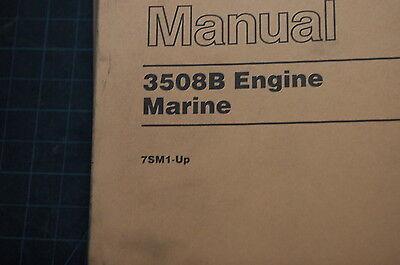Cat caterpillar 3508 marine moteur pièces manuel livre catalogue pièce boat 1997