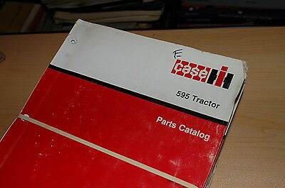 Case Ih 595 Tractor Parts Manual Book List Catalog Spare Farm 8-7132 Factory Oem